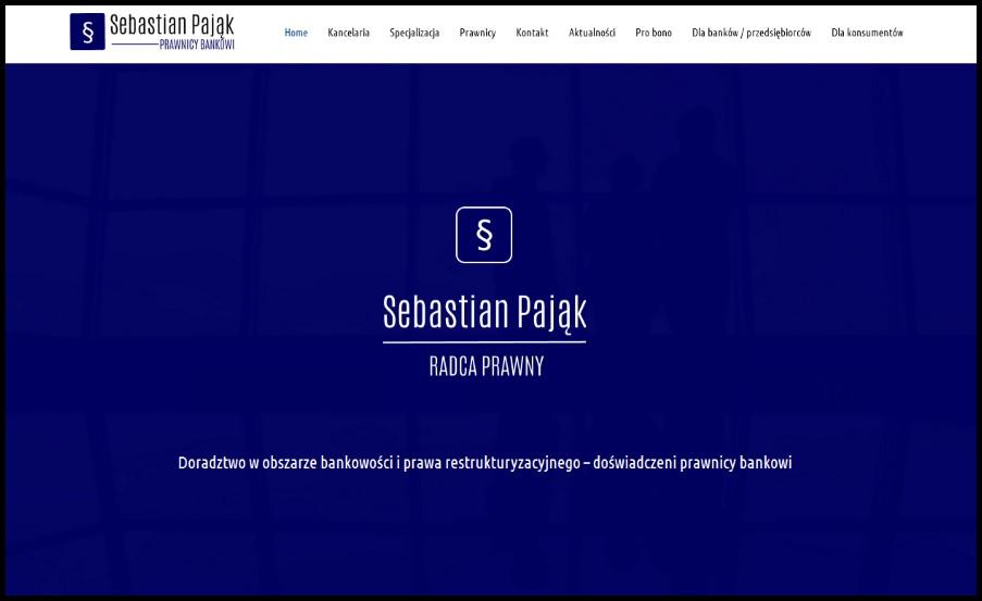 Kancelaria radcy prawnego Sebastiana Pająka