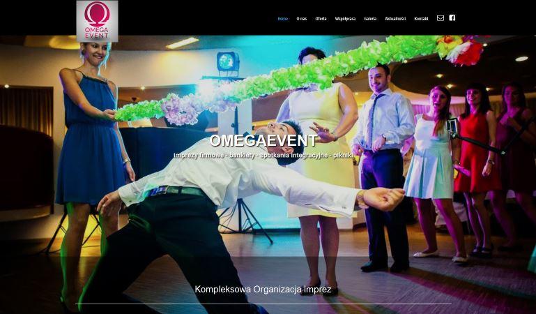 Strona www.omegaevent.pl – DJ na event firmowy z Krakowa