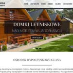 Domki letniskowe Jarosławiec - screen