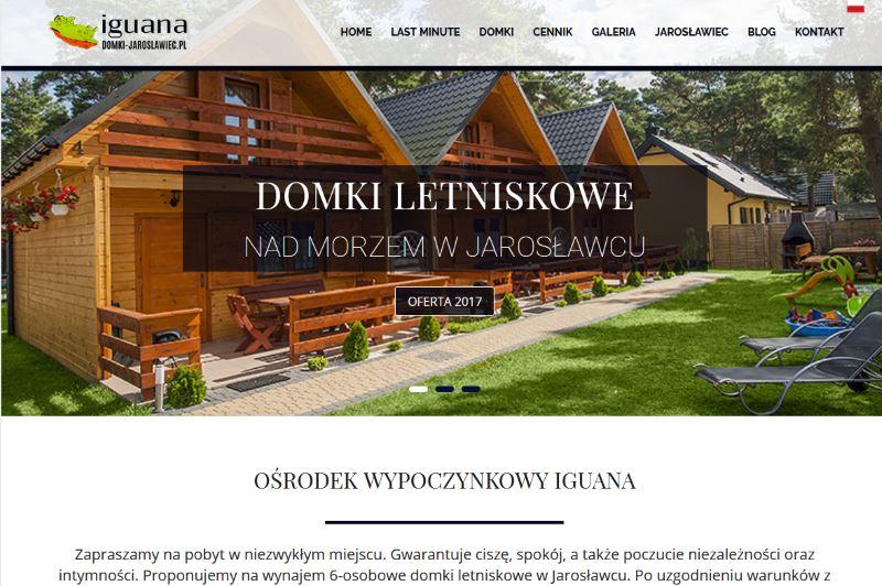 Domki letniskowe w Jarosławcu – strona internetowa domki-jaroslawiec.pl