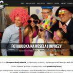Fotobudka Kraków strona internetowa screen