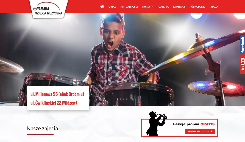 szkolamuzycznalodz.pl - zrzut ekranu