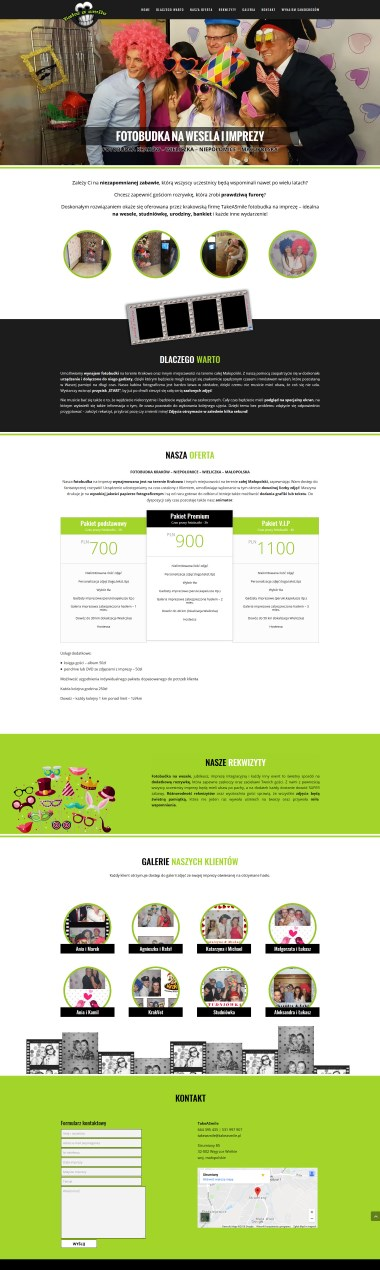 Strony internetowe - Szablon OneMile
