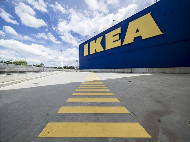 Ikei w Olsztynie nie ma, ale można zamówić dostawę z IKEA
