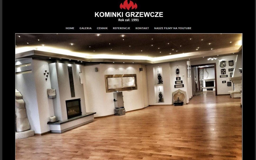 Strona klienta: www.kominkigrzewcze.warszawa.pl