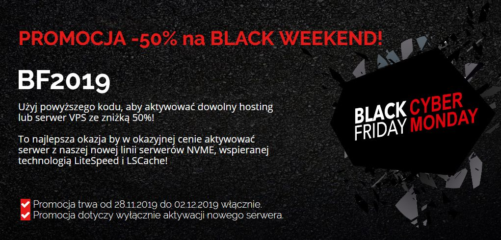 Hosting black friday cyber monday Seohost
